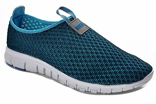 Toosbuy Women Breathable mesh Soft EVA Running Sport Walk Outdoor Shoes 37 Blue