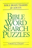 img - for Bible Word Search Puzzles book / textbook / text book