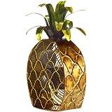 Deco Breeze DBF0375 Cast-Metal 16-Inch 3-Speed Pineapple-Shaped Decorative Fan