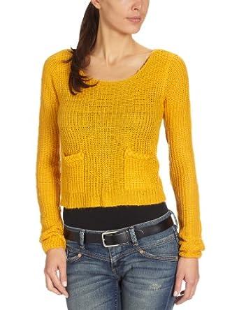Blend Damen Pullover, 3510, Gr. 40 (L), Gold (522)