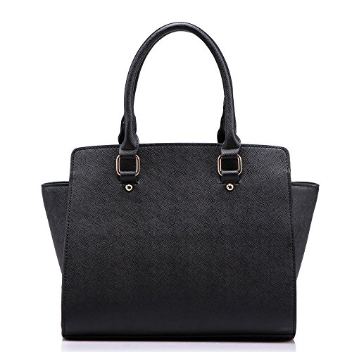 Ladies Faux Leather Quality Handbag Women's Fashion Designer Tote Bag Celebrity Style Quality Bags CW531436