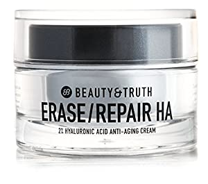 Beauty & Truth Erase Repair HA 2% Hyaluronic Anti-Aging Cream 1.0 Ounce