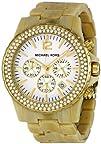 Michael Kors Womens MK5558 Madison Chronograph Horn Watch