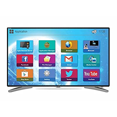 Mitashi MiDE043v20 109 cm (43 inches) Full HD LED Smart TV (Black) with Free Air mouse and 3 years warranty