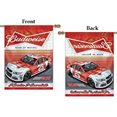 Buy #29 Kevin Harvick House Flag 2013 NASCAR Budweiser Banner by WinCraft