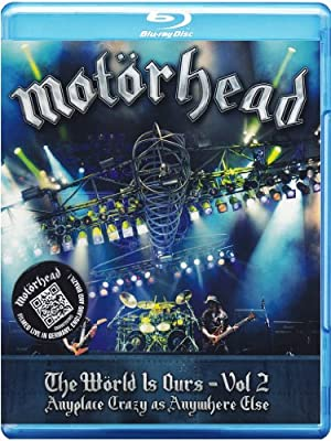 Motörhead - The Wörld is Ours Vol. 2: Anyplace Crazy As Anywhere Else [Blu-ray]