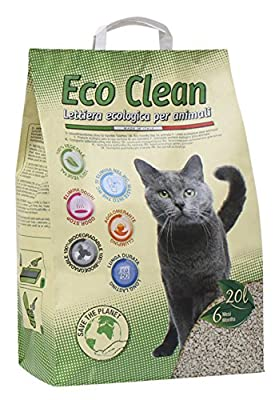 CROCI Cat Litter Eco Clean, 20 Litre