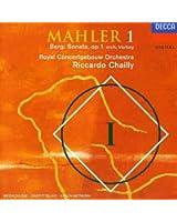 """MAHLER : Symphonie N° 1 """"Titan"""" / BERG : Sonate Op.1 (orch. Theo Verbey)"""