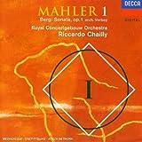 """echange, troc  - MAHLER : Symphonie N° 1 """"Titan"""" / BERG : Sonate Op.1 (orch. Theo Verbey)"""