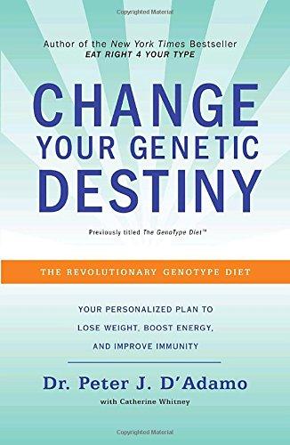 Change Your Genetic Destiny: The Revolutionary Genotype Diet