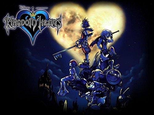 Kingdom Hearts Boy 1 2 poster 32 inch x 24 inch / 17 inch x 13 inch