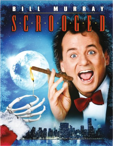 Cover art for  Scrooged [Blu-ray]