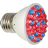 RubyLux Red & Blue LED Bulb - 640 to 660nm and 400 to 415nm