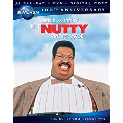 The Nutty Professor [Blu-ray + DVD + Digital Copy] (Universal's 100th Anniversary)