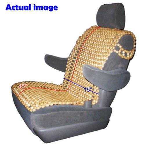 best wood bead seat cover autos weblog