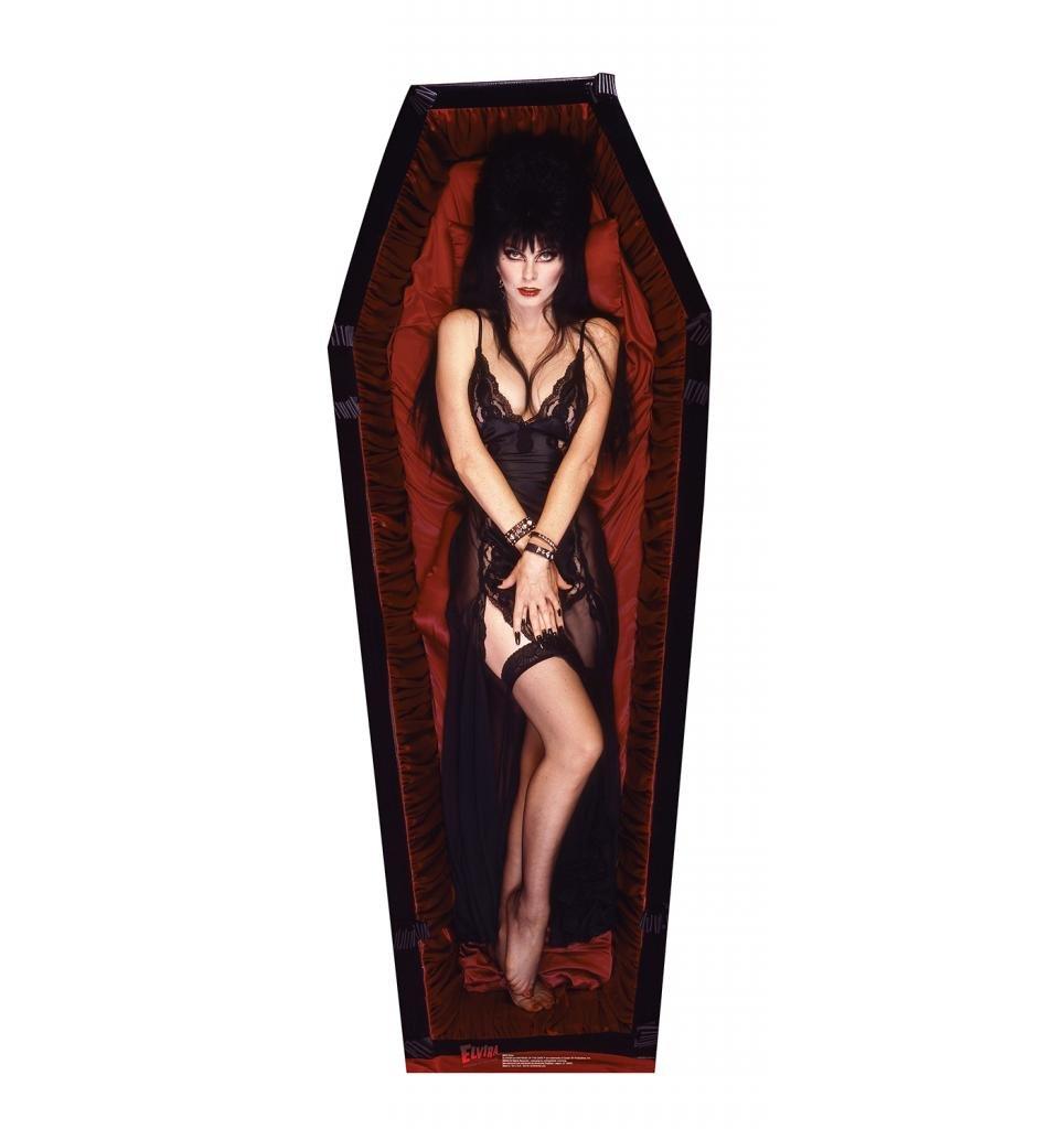 Elvira Life Size Cardboard Standup