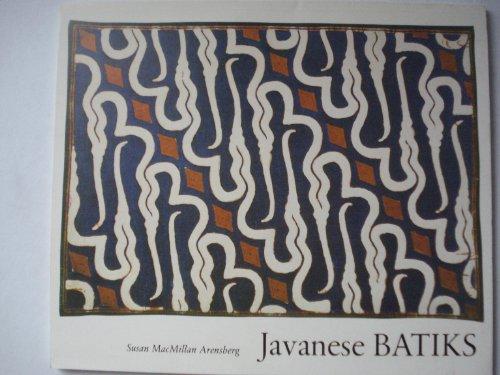 Javanese Batiks PDF