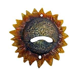 Design Toscano SP1061 Sunny Sunflower Cast Iron Bottle Opener