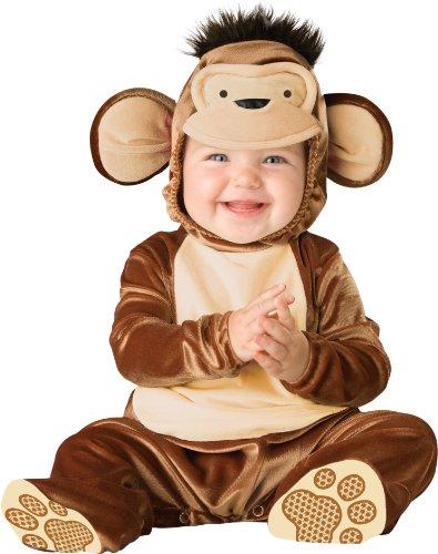 Mischievous Monkey Infant / Toddler Costume いたずら好きな猿の乳児/幼児コスチューム サイズ:6/12 Months