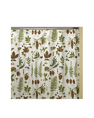 Creative Bath Northwoods Shower Curtain, Brown