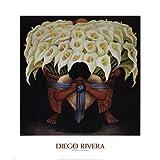 Diego Rivera - El Vendedor de Alcatraces Artistica di Stampa (69,85 x 81,28 cm)
