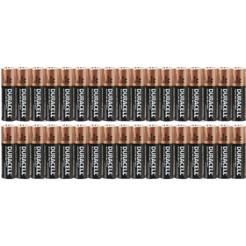 Duracell Aa Batteries Coppertop Mn1500 - 34 Pack [Expires 2019]