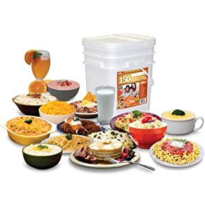 Relief Foods Premium 1 Month Emergency Food Supply Entree and Breakfast Meals Bucket... by Relief Foods