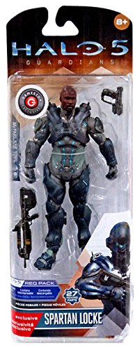 Mcfarlane Halo 5 Guardians Series 1 Spartan Locke Helmetless Exclusive