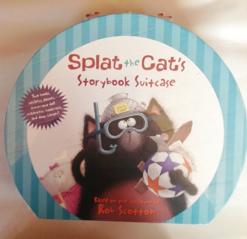 Harper's Splat the Cat's Storybook Suitcase