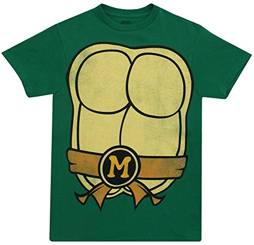 Teenage Mutant Ninja Turtles TMNT Michelangelo Adult Costume T-Shirt Tee