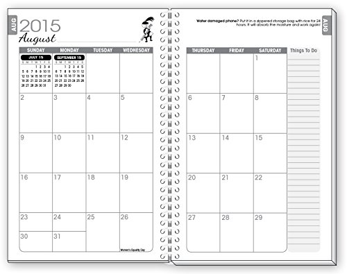 Little helper floral mom daily day planner weekly agenda organizer
