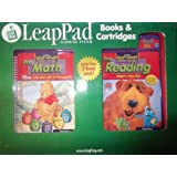 Leap Pad Learning System Pre Math And Pre Reading Books & Cartridges