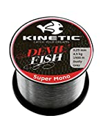 Kinetic Filo Da Pesca Super Mono 0,25 mm Gris