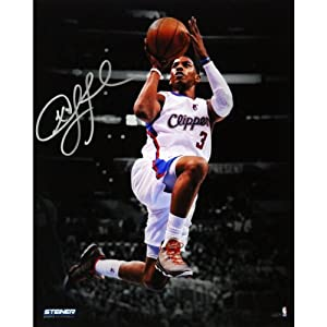 NBA Los Angeles Clippers Chris Paul Layup Against Lakers Signed Vertical Photo, 8 x... by Steiner Sports