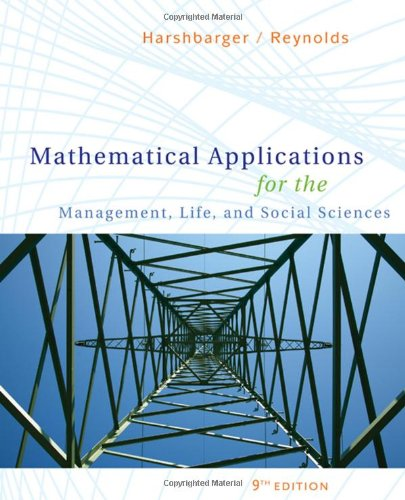 Mathematical Applications for the Management, Life, and...