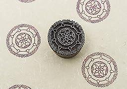 Blockwallah Ethnic Circle Wooden Block Stamp