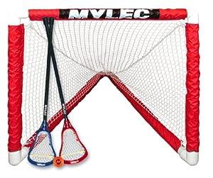 Buy Mylec Mini Lacrosse Goal Set, White by Mylec