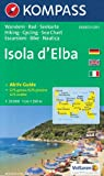 Elba 1:25,000 Contoured Hiking Map, GPS-precise KOMPASS