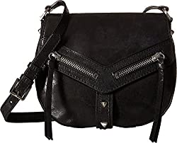 Botkier Women's Trigger Saddle Bag Black Cross Body