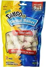Dingo Mini Dental Bones, 21-Count