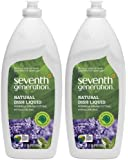 Seventh Generation Natural Liquid Dish Soap Lavender & Floral Mint 2-pack; 25 Oz Each.