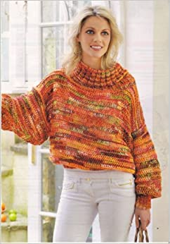 Batwing Knitting Pattern : Womens Batwing Sweater Knitting Pattern: To fit bust or chest 32