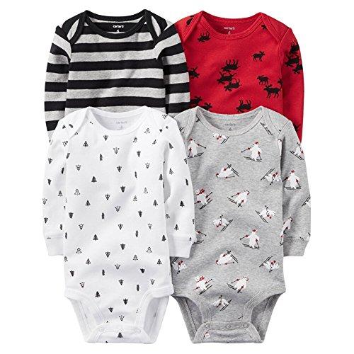 Carter's Baby Boys Multi-Pk Bodysuits 126g459, Assorted, 9M