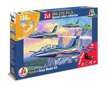 ITALERI 1:72 Aircraft No AS855 Mb 339 P.A.N Activity Set