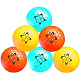Longridge Atomic Hi-Vis Neon Golf Balls