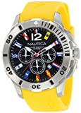 "Nautica Mens N18637G Bfd 101 ""Dive Style"" Stainless Steel Casual Watch"