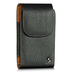 Luxmo Vertical Leather Pouch Belt Clip Holster Carrying Case For Samsung Galaxy S3 i9300 i747