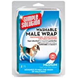 Simple Solution Washable Male Wrap, Medium
