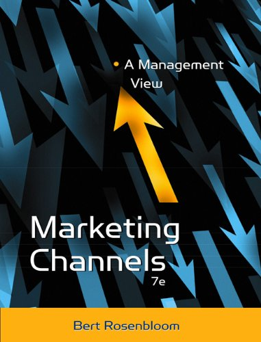 Marketing Channels: A Management View