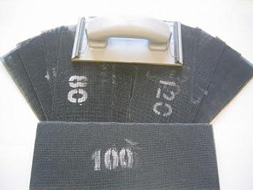 Schleifgitter 100 Stück 105 x 280mm P150 Schleifpapier Gipskarton Handschleifer